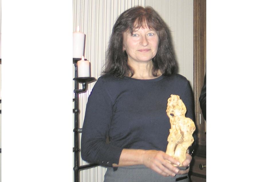 Für ihr Engagement weit über ihre dienstlichen Verpflichtungen hinaus erhielt Sylvia Panoscha 2018 den Schleifer Ehrenpreis.