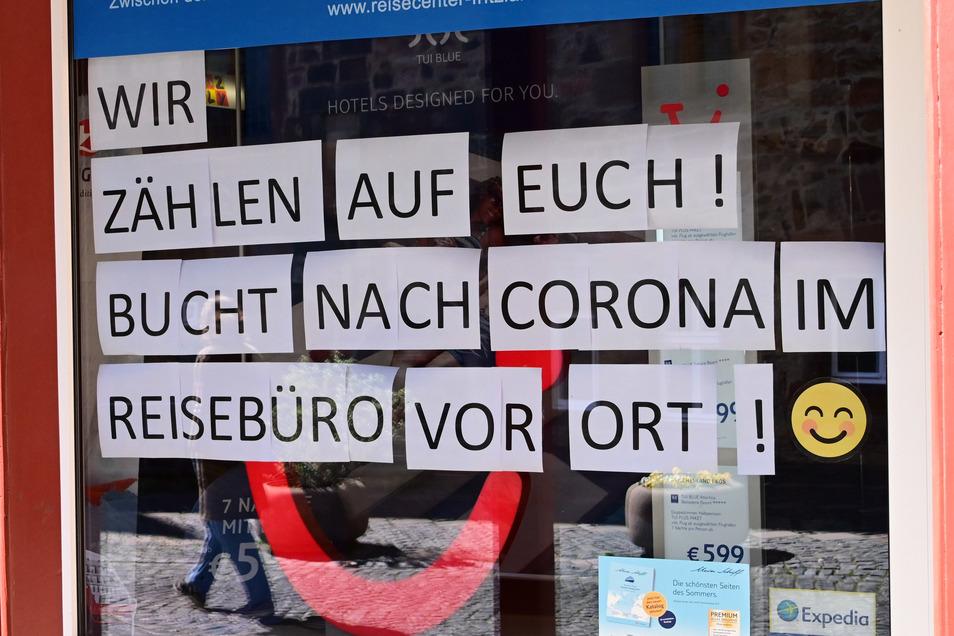 Die Reisebüros sind von der Corona-Krise besonders hart betroffen. Wie und wann es weitergeht, ist offen.