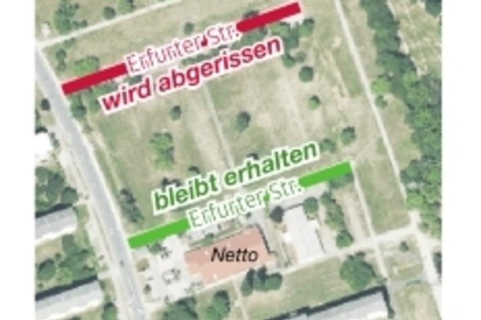 Der Supermarkt-Standort an der Segouer Straße bleibt erhalten.