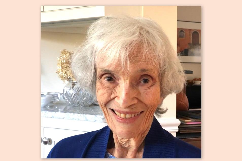 Ursula Totschek lebt heute in Washington. Am 21. Januar wurde sie 95 Jahre alt.