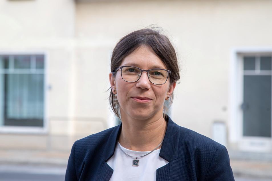 Kathrin Uhlemann tritt als parteilose Kandidatin für die CDU an.