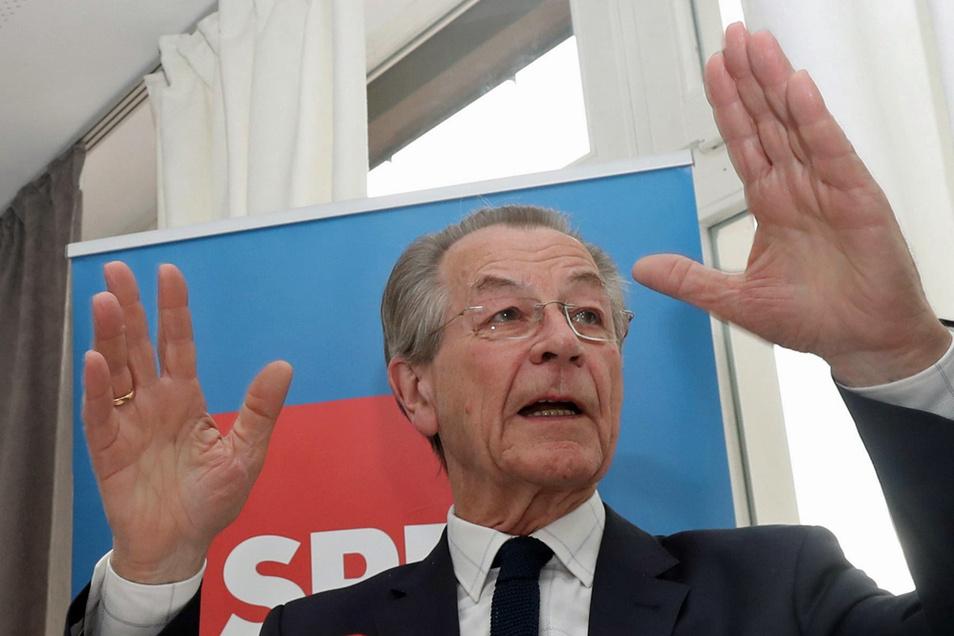Franz Müntefering (79) war von März 2004 bis November 2005 sowie von Oktober 2008 bis November 2009 Chef der SPD und Vizekanzler der Groko zwischen 2005 und 2007.