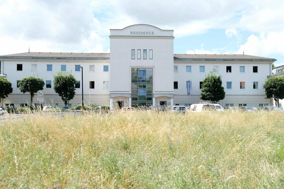Darf nun vom Landratsamt gekauft werden. Die Residence am Teichertring in Meißen wird zu einem großen Behördenstandort.