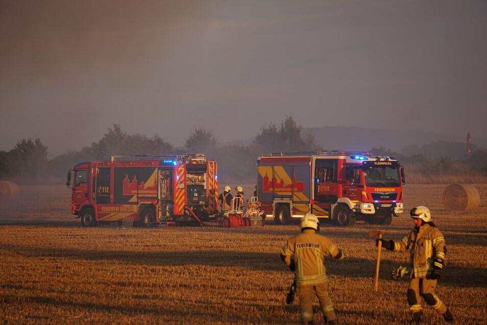 Gegen 20.15 Uhr wurden mehrere Feuerwehren alarmiert.