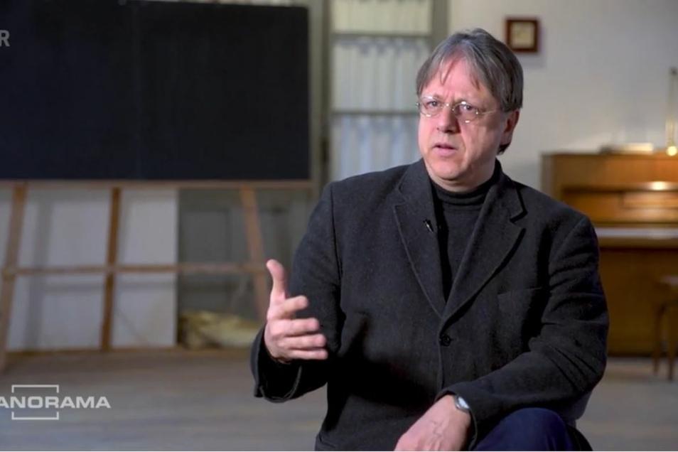 Thomas Brunner in der Sendung Panorama im Ersten.