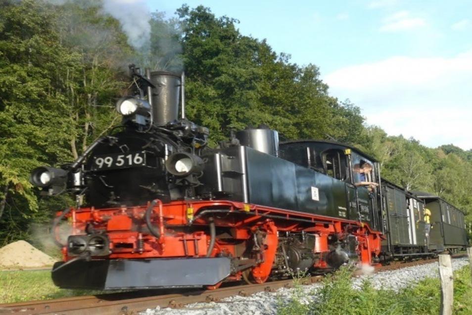 Bahnhofsfest mit Dampf - das verspricht Lohsdorf an diesem Wochenende.