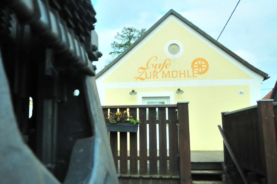 """Nachnutzer gesucht: Das Café """"Zur Mühle"""" in Zabeltitz steht momentan leer."""