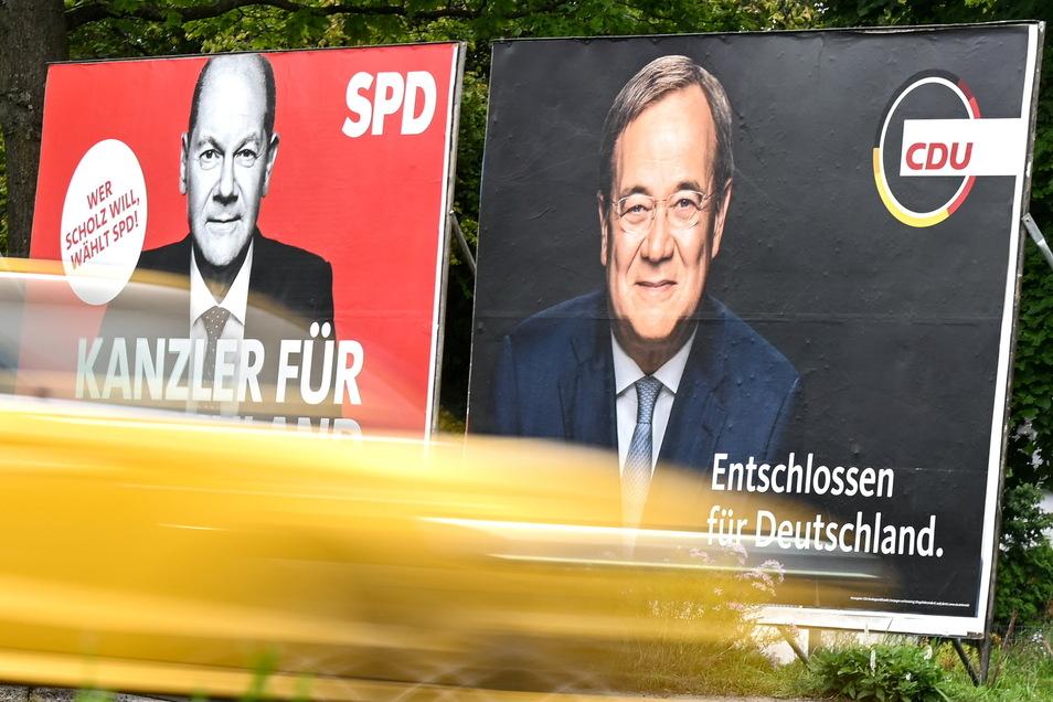 ie Union ist kurz vor der Bundestagswahl auch in der von Kantar erhobenen Wählerstimmung wieder näher an die SPD herangerückt.