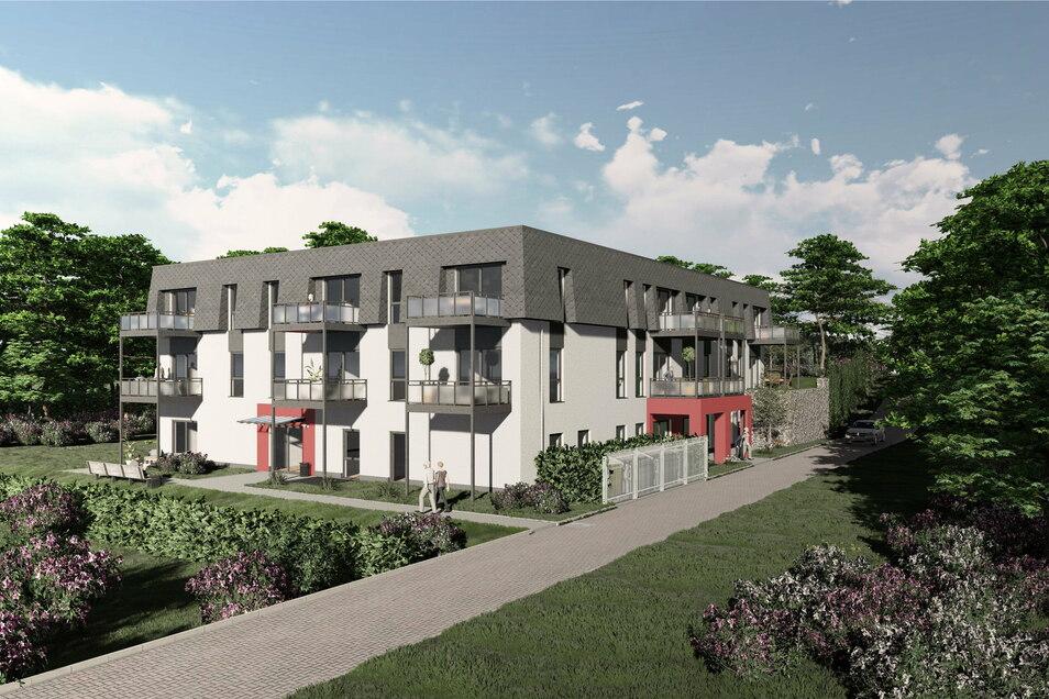 In Großpostwitz sollen am Raschaer Berg bis zum Herbst des kommenden Jahres 18 betreute Wohnungen für alte Menschen entstehen, außerdem eine Tagespflege mit bis zu 18 Plätzen.