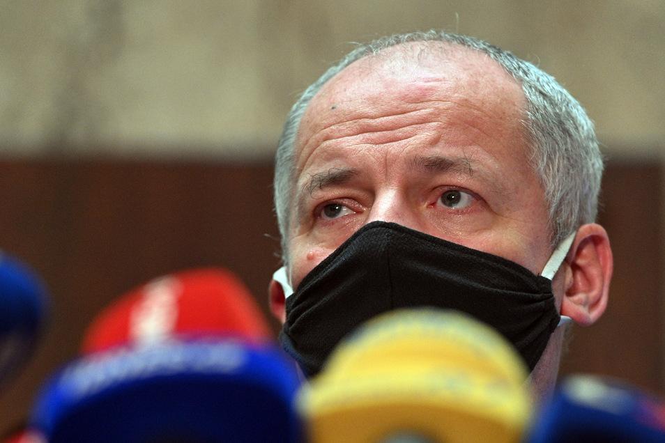 Gesundheitsminister Prymula beklagte die Laxheit vieler Tschechen.