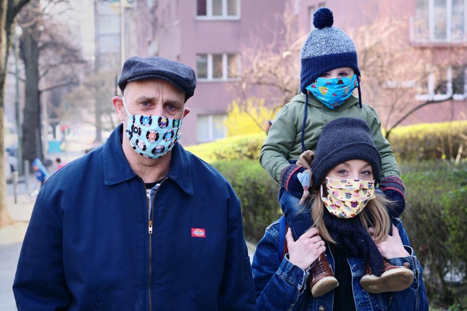 Die Wirkung selbstgenähter Masken ist umstritten.