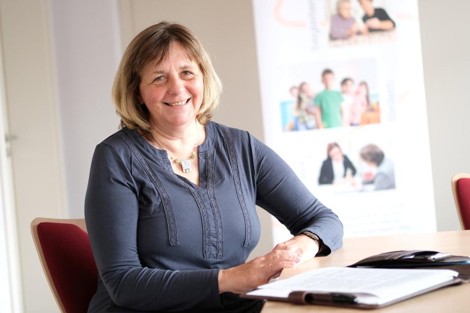 Astrid Winkler von der Caritas Meißen.
