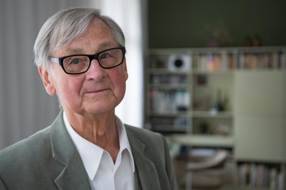 Möbeldesigner Rudolf Horn lehrte als Professor an der Kunsthochschule auf der Burg Giebichenstein.