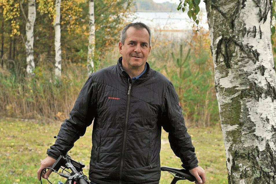 Jörg Funda (55), seit 2009 Gemeinderat, stellt sich als CDU-Bürgermeisterkandidat am 1. November 2020 zur Wahl. Der Geschäftsführer der Erlebniswelt Krauschwitz ist seit 1. August Amtsverweser der Gemeinde.