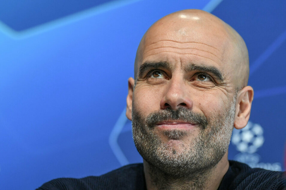 Pep Guardiola, Trainer von Manchester City.