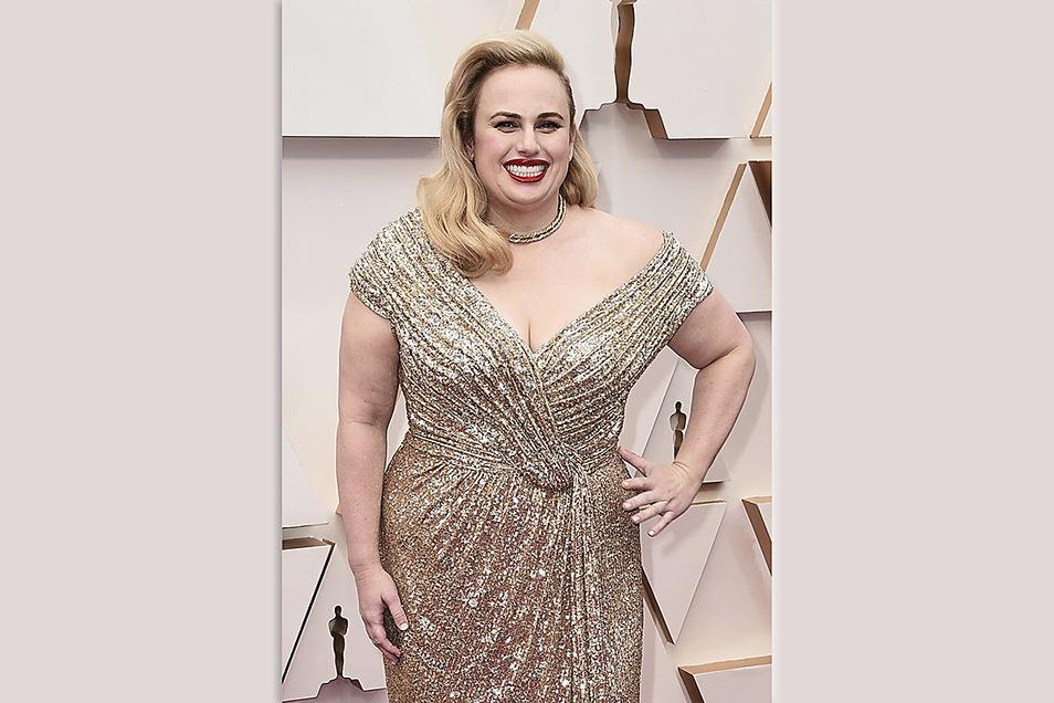 Rebel Wilson im Februar 2020 bei der 92. Verleihung der Academy Awards in Los Angeles. Inzwischen hat die Schauspielerin deutlich an Gewicht verloren.