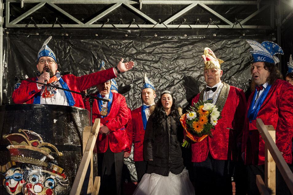 So ging Karneval vor Corona: Hier ein Bild aus Reichenbach vom 11.11.2016.