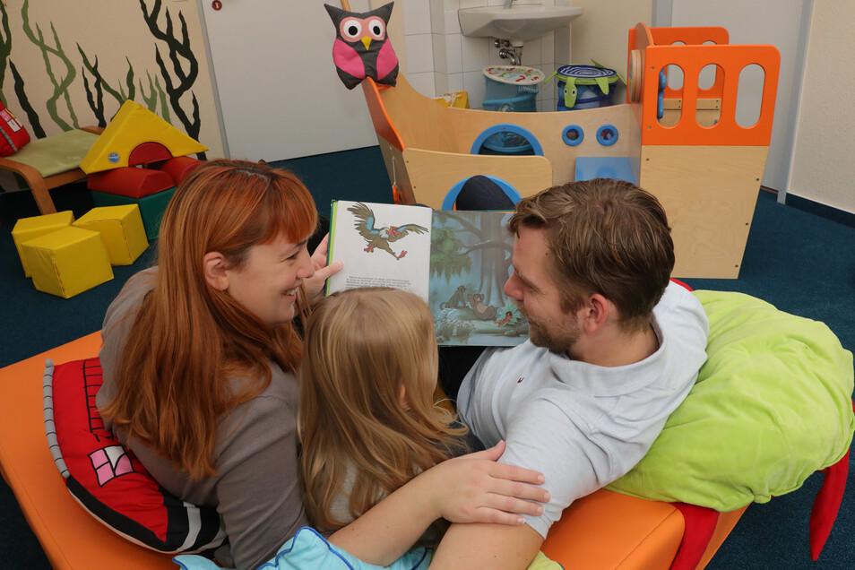 Während der Kur im sächsischen Grünhain ist die Familie von Daniela Hirschberger und Jens Groß wieder enger zusammengerückt.