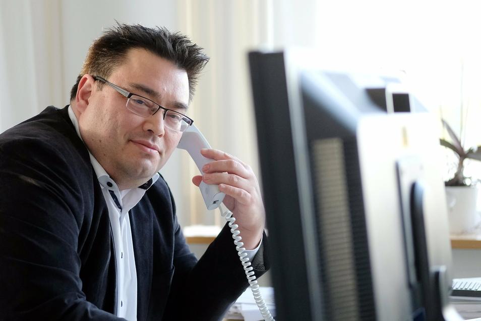 Sucht eine neue Herausforderung: Frank Yuji Ohi, Vorstand der Elblandkliniken. In den über sieben Jahren an der Spitze des Unternehmens hat er die Klinik-Gruppe aus den roten Zahlen geführt und wirtschaftlich erfolgreich gemacht.