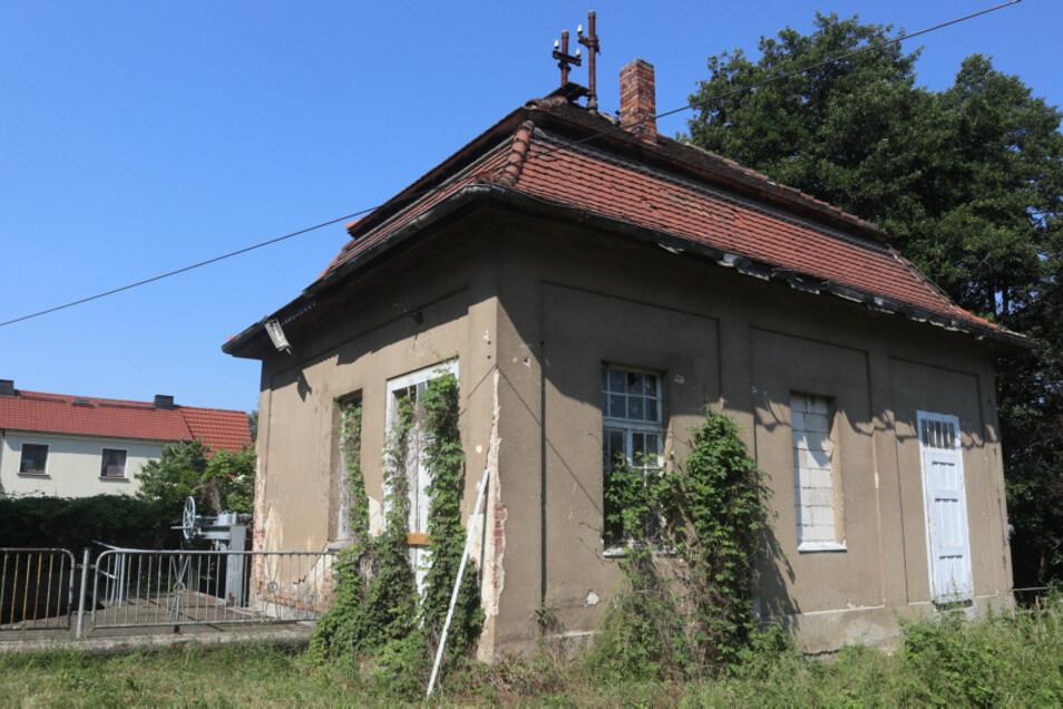 Historisches Turbinenhaus in Weißkollm