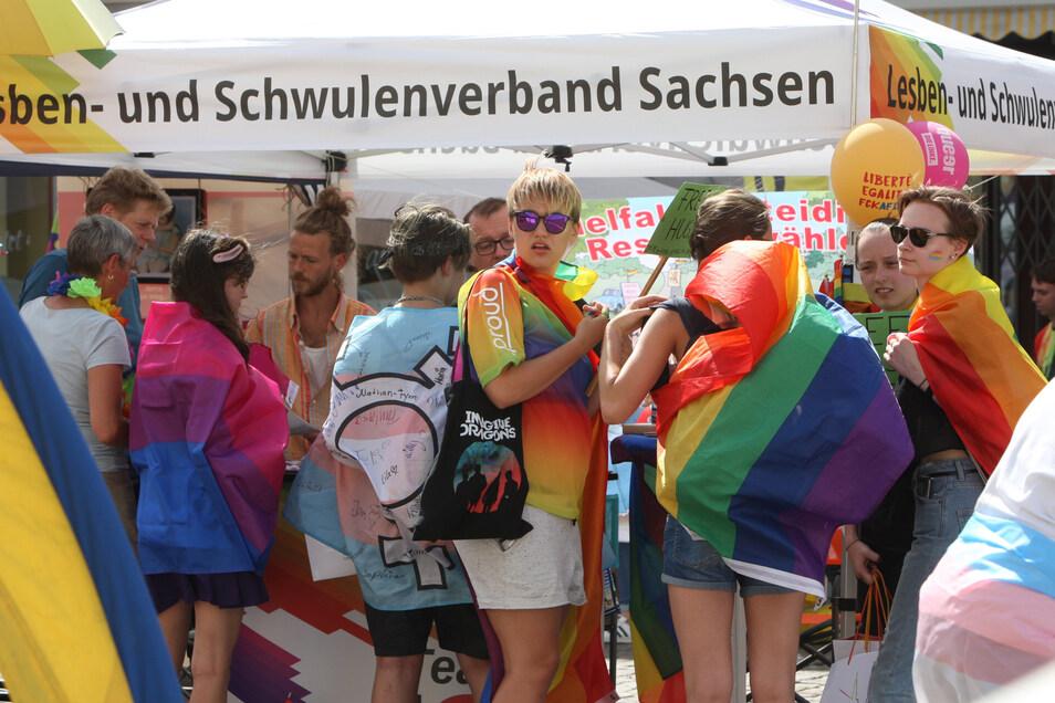 Der Christopher Street Day in Pirna muss dieses Jahr ausfallen.