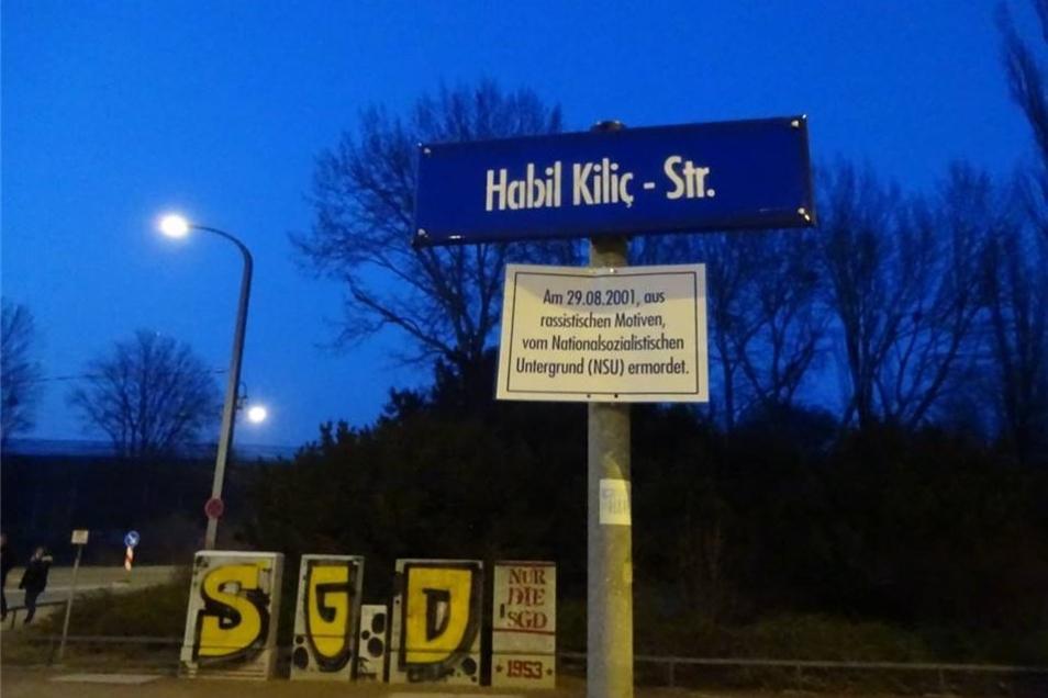 Auch der  Lennéplatz wurde umbenannt - in Habil Kiliç -Straße.