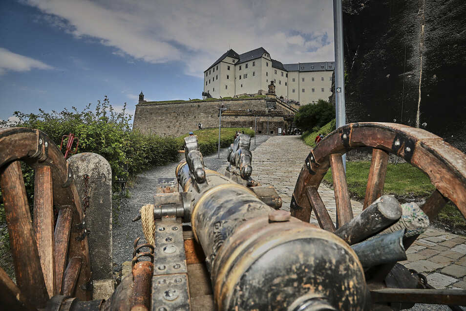 Am Dienstag bleiben die Tore der Festung Königstein geschlossen.