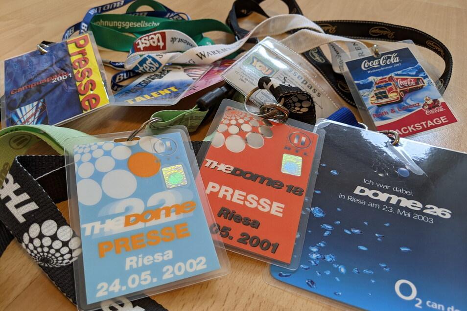 """""""The Dome"""" in Riesa 2002: Zutritt nur mit Backstage-Pass."""