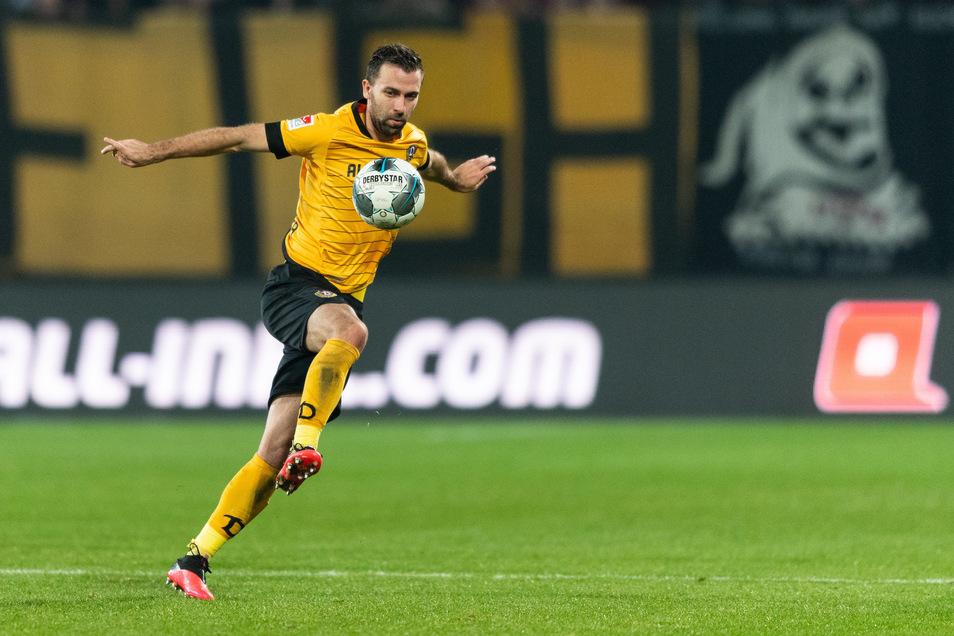 Für Josef Husbauer besitzt Dynamo eine Kaufoption. Der Tscheche ist von Slavia Prag ausgeliehen.