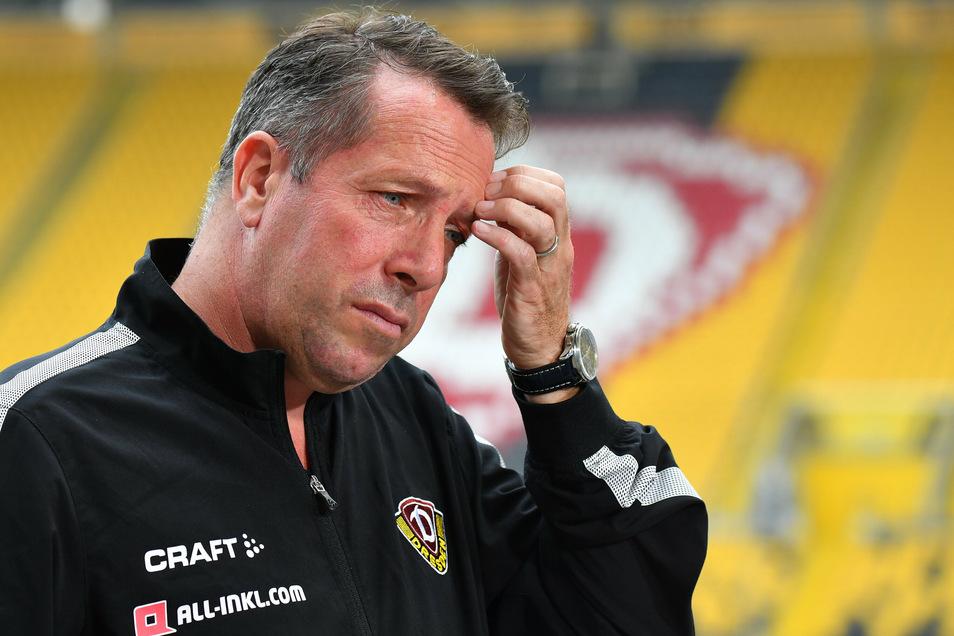 Trainer Markus Kauczinski startet heute mit Dynamo Dresden in die Vorbereitung auf die neue Saison.