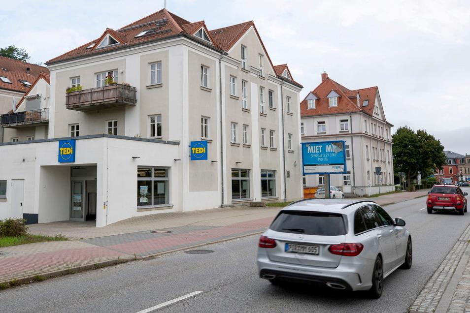 Aus Aldi wird Tedi: Nach knapp zwei Jahren Leerstand ist am Sonnabend in Heidenau Neueröffnung.
