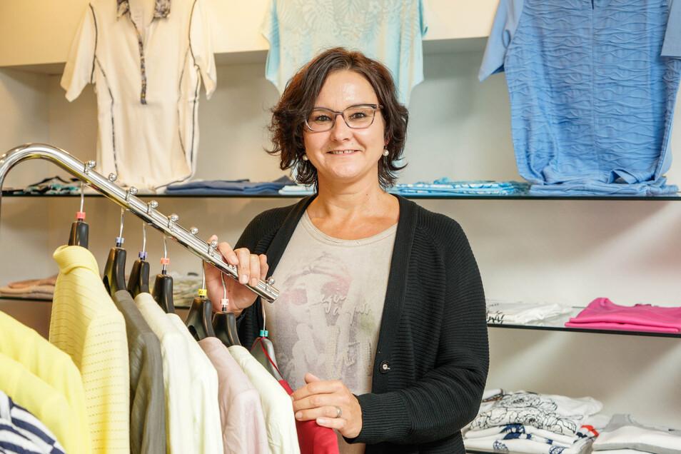 Manuela Jäger arbeitet seit 2015 in dem gleichnamigen Modegeschäft. Seit Beginn dieses Jahres ist sie dessen Inhaberin.
