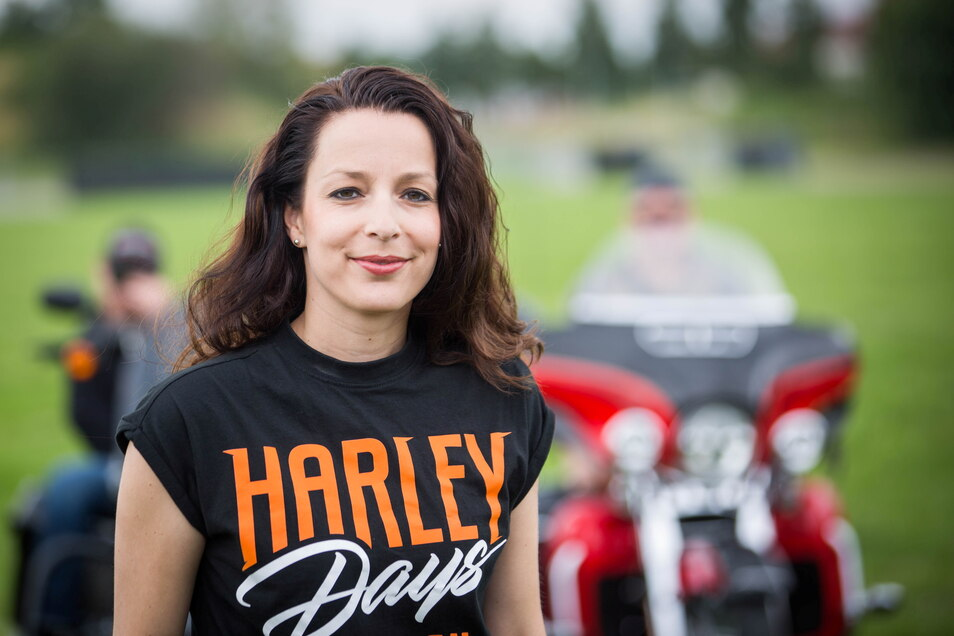Daniela Hesse hatte in diesem Jahr nur drei Wochen Zeit für die Vorbereitung des Motorrad-Treffens.