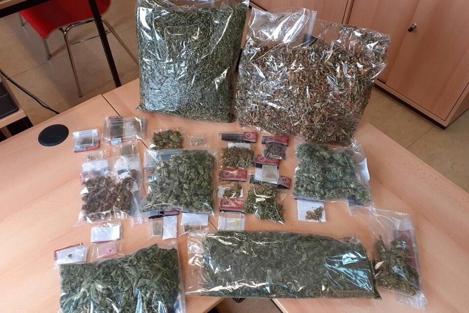 In einer Mittweidaer Wohnung wurden Drogen gefunden.