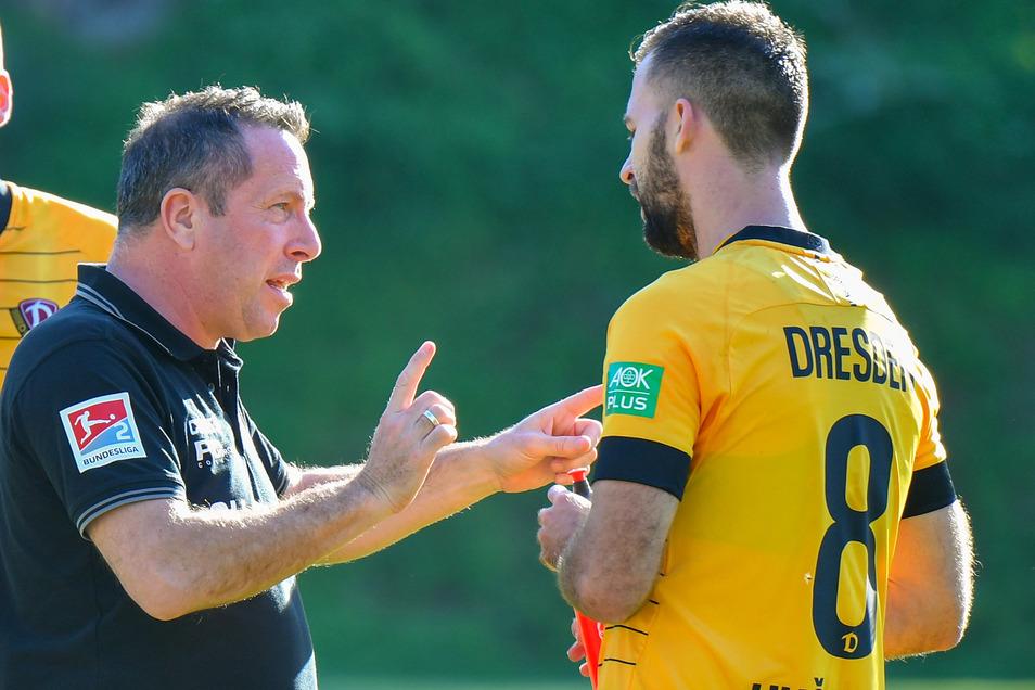 Gesucht, gefunden: Trainer Markus Kauczinski setzt auf Josef Husbauer – auch wenn der zuletzt nur wenig bis gar nicht trainieren konnte.