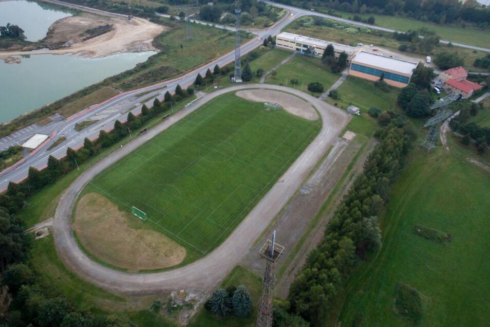 Der Sportplatz Hagenwerder