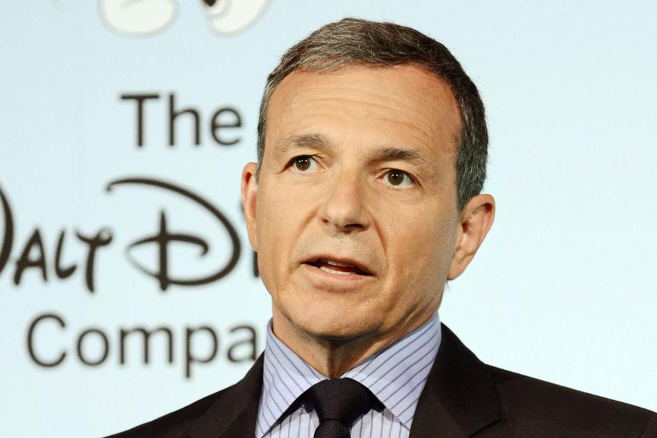 Disney-Chef Robert A. Iger ist am Dienstag überraschend zurückgetreten.
