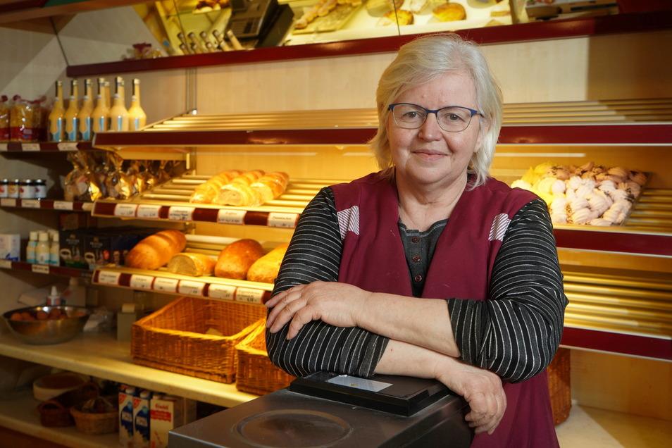 Die Bäckerei Polak in Schmölln schließt am Sonnabend. Besitzerin Gudrun Polak hört nach fast 37 in der Backstube auf.