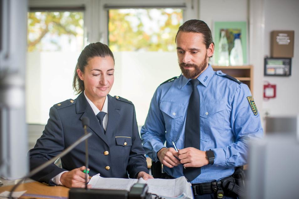Maria Meißner hat die Leitung des Polizeireviers Dresden-West übernommen.
