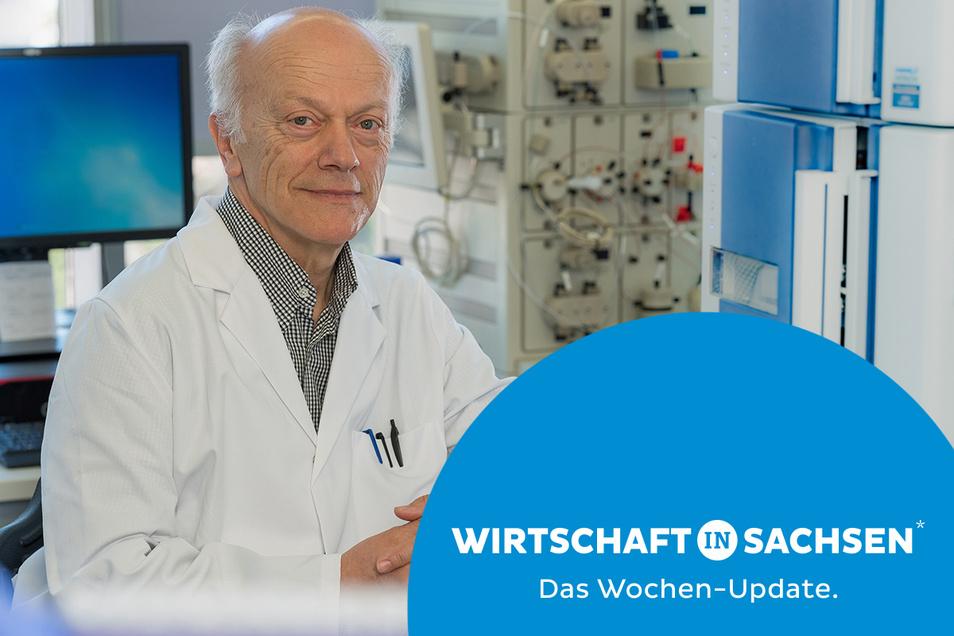 Der Dresdner Krebsmediziner Gerhard Ehninger hat mit seinem Start-up eine Viertelmillion US-Dollar eingeworben - ein Rekord.