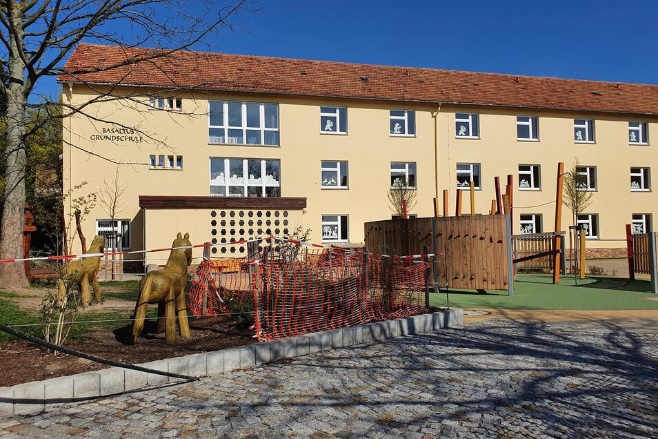 Die Basaltus Grundschule Stolpen musste vorübergehend geschlossen werden.