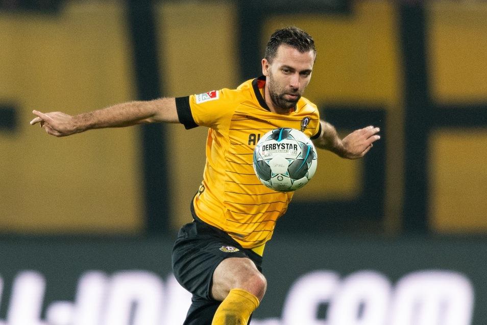 Josef Husbauer pausierte in der Vorbereitung aufgrund eines Infekts. Gegen Bochum nur noch in der Jokerrolle.