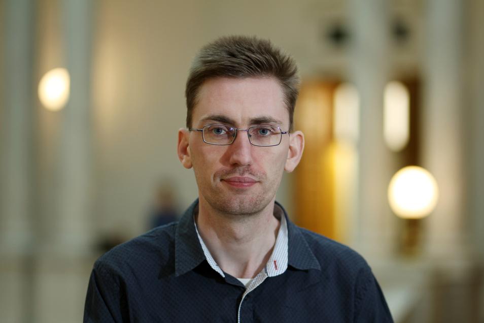 Dr. Hendrik Träger, Politikwissenschaftler der Universität Leipzig
