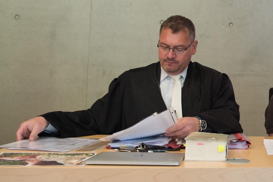 Frank Hannig ist seit Kurzem der Anwalt vom Tatverdächtigen Stephan E.