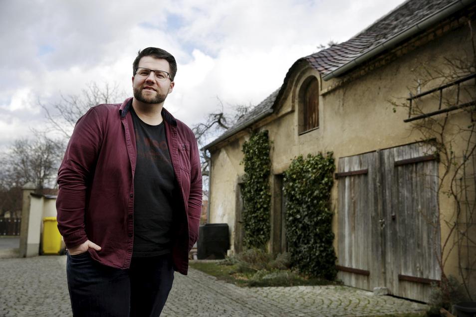 Benjamin Brunner hat mit seinen 31 Jahren schon zehn Jahre Kommunalpolitik hinter sich. Diese Erfahrungen aus dem heimatlichen Geyer möchte er nun im Kamenzer Stadtrat sowie im Kreistag nutzen. Und im Jesauer Dreiseithof gibt es viele Pläne.