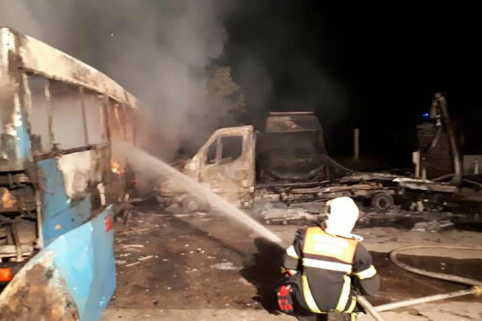 Vor knapp zwei Wochen wurden in Meißen Fahrzeuge der AfD-Landesverbandes angezündet.