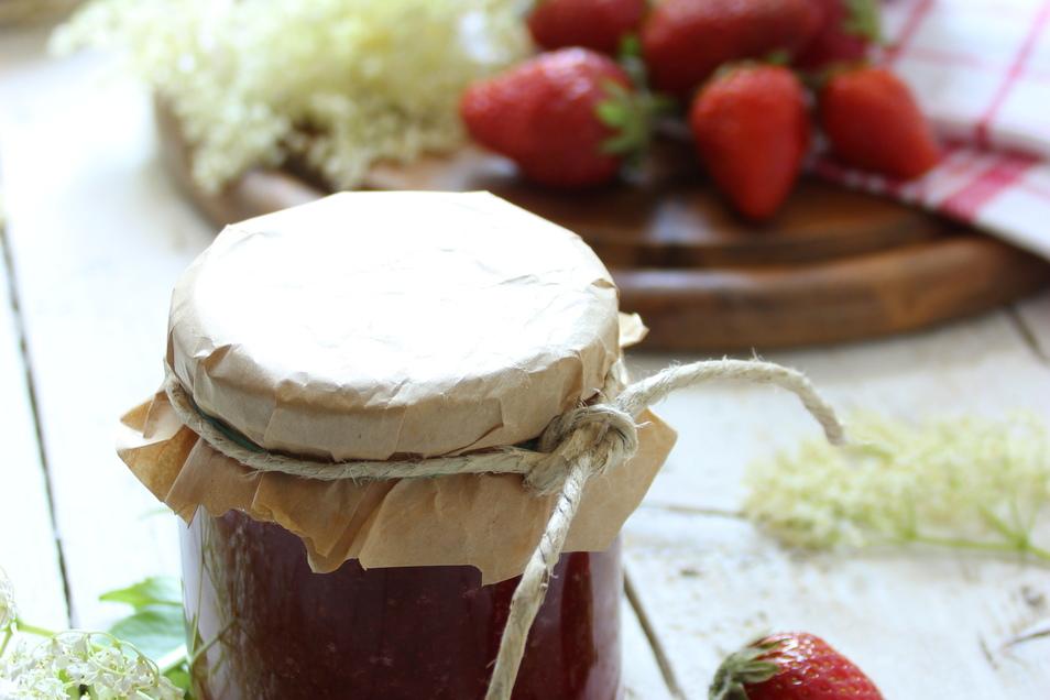Schnell gemacht und schnell verputzt: leckere Erdbeermarmelade.