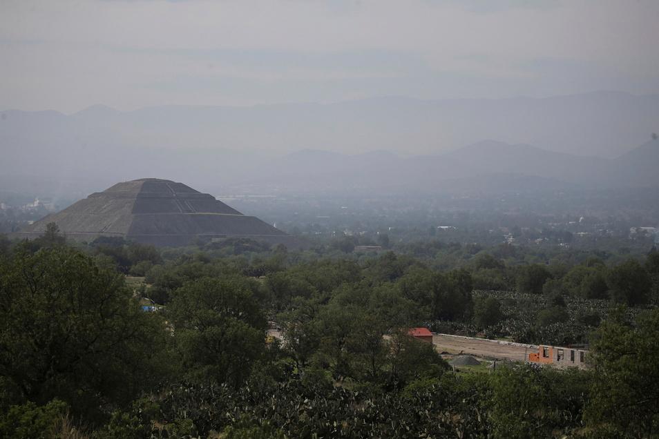 Die mexikanische Ruinenstätte Teotihuacan gehört seit 1987 zum Weltkulturerbe der Unesco.