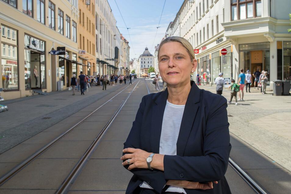 Ilona Markert ist die City-Managerin in Görlitz. Den verkaufsoffenen Sonntag organisierte sie nicht mit.