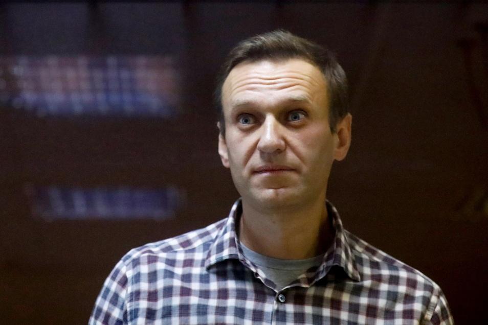 Im Februar sah Nawalny so aus.